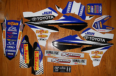 Factory Effex Team Jgr Graphics Decals Kit Yz250F Yz450F ( 2014 2015 2016 )