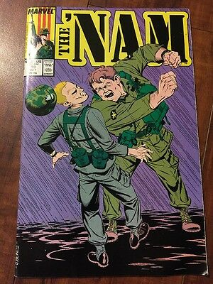 The Nam 1987 May 18 Marvel Comic Book Very Good Condition