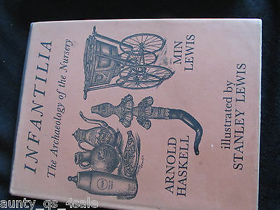 Vintage Printing Infantilia: The Archaeology Of The Nursery, baby rattles etc.,