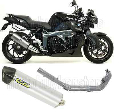 Arrow Full Muffler Exhaust System Mr-T Aluminium Carby-Cup Bmw K 1300 R 2012 12