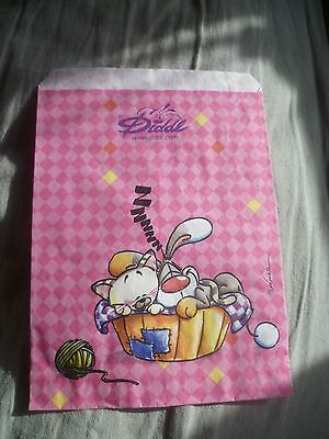 Depesche Diddl's Bibombl & Milimits Sleeping Basket Small Gift Bag -Collectable