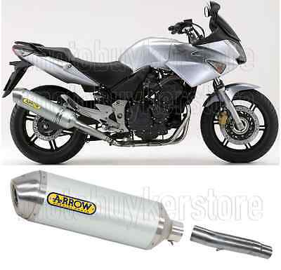 Arrow Kit Muffler Exhaust Racetech Aluminium L Honda Cbf 600 2008 08