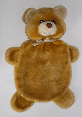 "Teddy Bear  plush hotwater bottle cover 16""long"