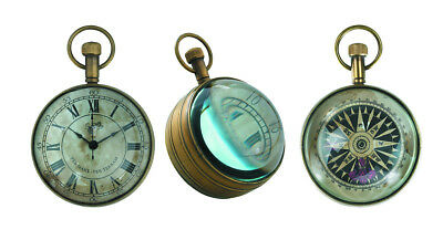 Authentic Models The Eye of Time Clock - Taschenuhr