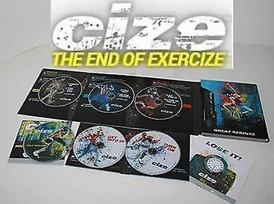 Brand New ClZE Dance Workout 6 DVD The End of Exercise + Weight Loss Series
