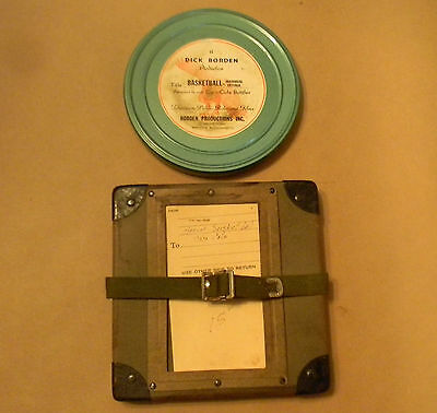 Vintage 16mm Color Film W/Sound Reel By Coca Cola Basketball Individual Offense