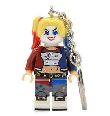Harley Quinn Suicide Squad porte cle clef key Keychain Lego Compatible DC Comics