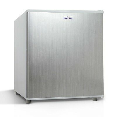 2-in-1 55L Caravan Bar Fridge Freezer Stainless Steel