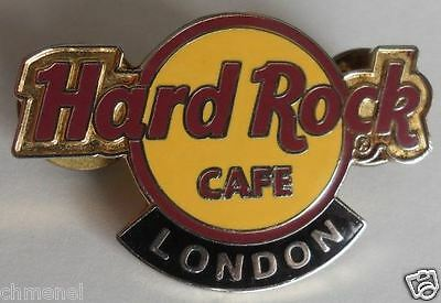 Hard Rock Cafe LONDON CLASSIC LOGO HRC Brand New PIN LE on a card!