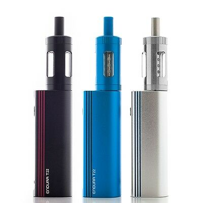 GENUINE INNOKIN ENDURA T22E STARTER KIT,drop down PRISM T18E 1.5OHM COILS