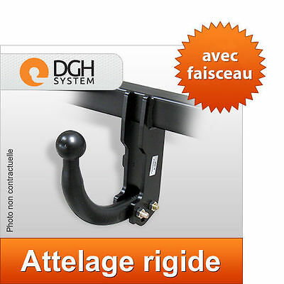 Attelage fixe rigide Ford Focus hayon 1998-2004 + faisceau universel 7 broches