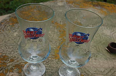 Planet Hollywood Aspen (Closed) Hurricance Glasses Pair EUC