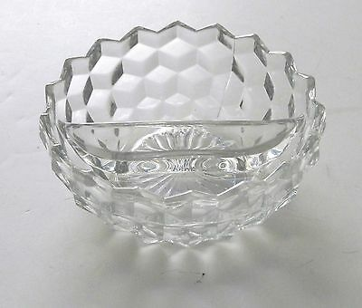 Colony Whitehall Clear Divided Mayonnaise Bowl