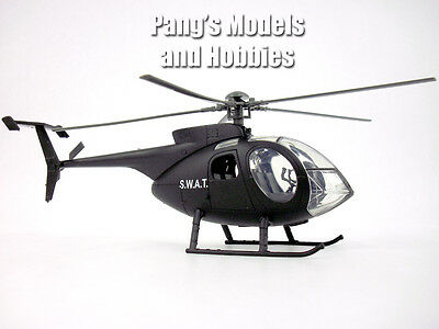 Hughes 500 / NH-500 (SWAT) 1/32 Scale Diecast Metal Helicopter by NewRay