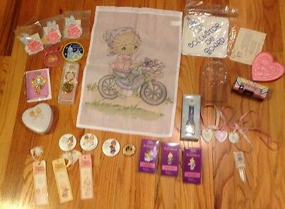 Lot Of Precious Moments Pins Mirrors Magnets Bookmarks Keychain Souvenirs