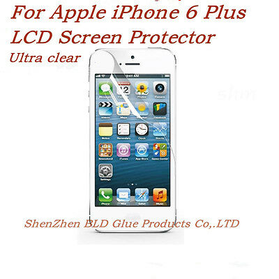 Clear PET Screen Protector w/ Cleaning Cloth for IPHONE6
