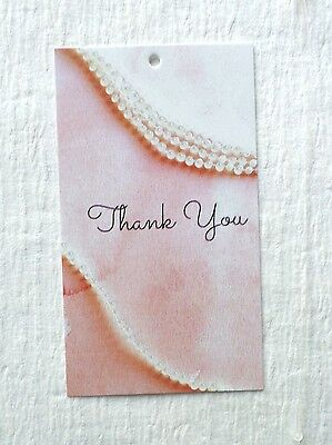 Fashion Tags Accessories Tags 100 Cute Thank You Hang Price Tags Plastic Loops