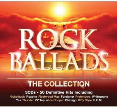 Rock Ballads-The Collection (2014, CD NEU)3 DISC SET