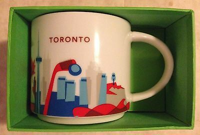 Starbucks TORONTO CANADA City State You Are Here Mug Cup YAH New Niagra w/ box