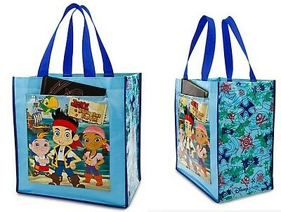 Disney Jake And The Neverland Pirates Large Sized Non Woven Reusable Tote Bag
