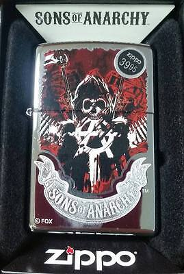 Sons of Anarchy Zippo Lighter NEW