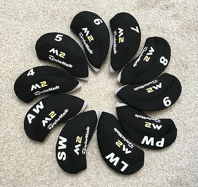 New Taylormade M2 Iron Covers Golf Club Head Covers Black