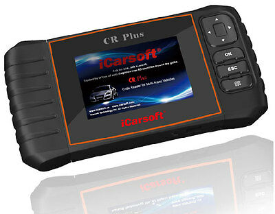 iCarsoft CR Plus Professional Diagnostic Fault Code Reader Scanner Tool OBD2