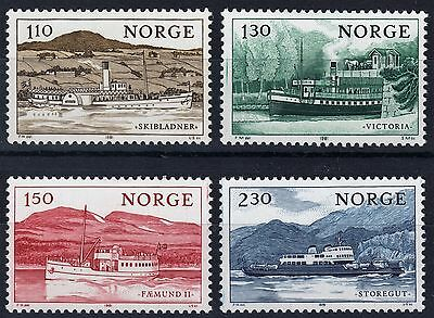 Noruega - Norway 1981 - Lake Transportation Boats - Complete set - MNH**