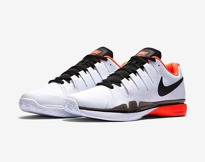 B23 Nike Zoom Vapor 9.5 Tour Federer Shoe Uk 9.5 Eur 44.5 631458-106