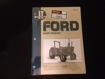 Ford Tractor 100 Series  Workshop Manual