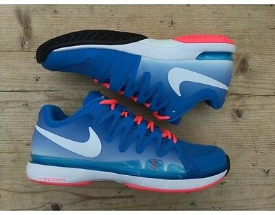B58 Nike Zoom Vapor 9.5 Tour Roger Federer Signature Tennis Shoe 631458-416 UK 9