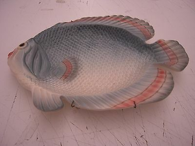 Fitz And Floyd Classics - Larger Ceramic Fish - Wall Hanging With Hanger