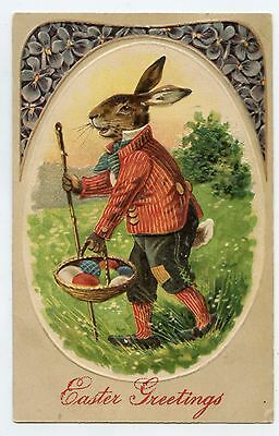 Lapin humanisé . Oeufs . PAQUES . EASTER . Humanized rabbit . Eggs