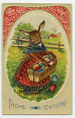 Lapin humanisé . Oeufs . PAQUES . EASTER . Humanized rabbit . Eggs . Farmer