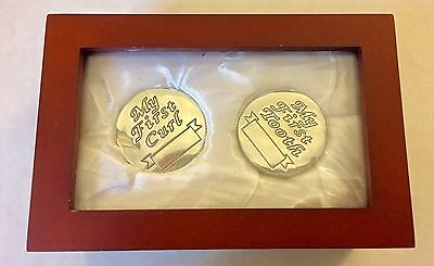 Stephan Enterprises Inc Baby Keepsake Gift Set My First Tooth/ My first Curl