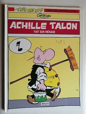 ACHILLE TALON FAIT SON MENAGE - DARGAUD / SHELL cartonné