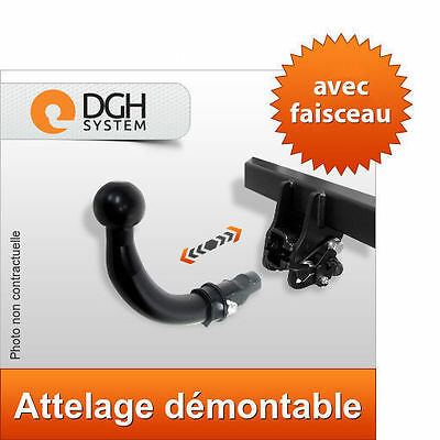 Attelage démontable Jeep Grand Cherokee WH 2005/2011 + faisceau 13 broches