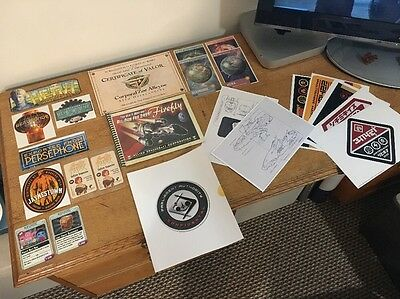 Firefly Serenity Lootcrate Stickers, Cards And Paper Sundries