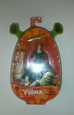 Shrek 2 Fiona with spin kick action action figure MOSC