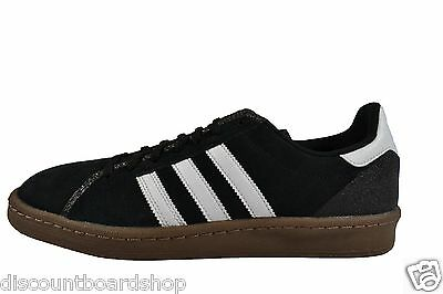 a6dfd1ac24f3 Adidas CAMPUS Black White Gum 5 Suede Discounted Skateboarding (249) Men s  Shoes