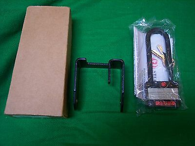 Lot Of 3 Ruger Pm262C Padlocks And Clamp Bracket With 2 Keys  Each New