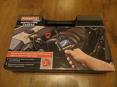 Powerfix Inspection Camera For Hollow Spaces Pipes Drainpipes Etc Monitor