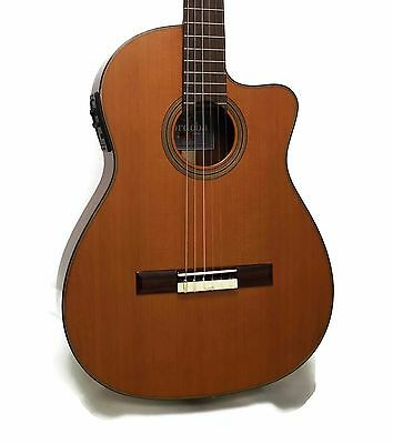Cordoba Fusion 12 Natural CD Nylon String Classical Acoustic-Electric Guitar