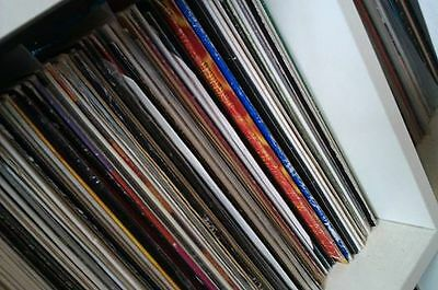 "25 x 12"" dance house progressive house techno trance edm vinyl records job lot"