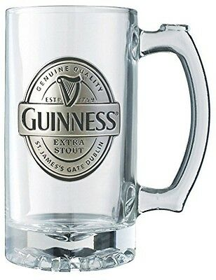 Guinness Official Merchandise Guinness® Label Tankard with Pewter Logo
