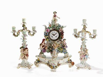 Meissen set 19th century
