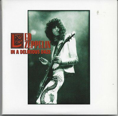 "Led Zeppelin ""In A Delirious Daze"" Seattle '77 OOP Rare Silver Equinox Label 3CD"