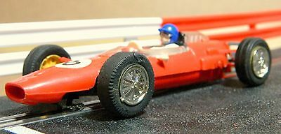Scalextric Vintage 'junior' Cooper In Lovely Condition (C81)