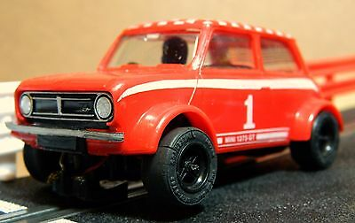 Scalextric Vintage  Mini Clubman 1275Gt In Lovely Condition (C122)