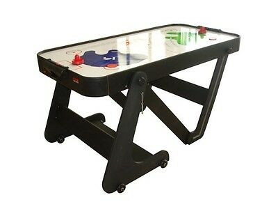 BCE Typhoon 6ft Air Hockey Games Table - Vertical Folding